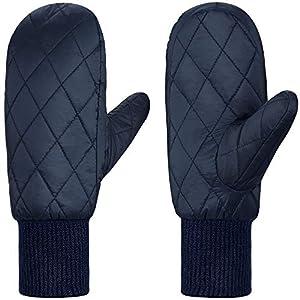 Andake Winterhandschuhe, Warme Wasserdichte Winddichte Atmungsaktive 90% Ente runter Freizeit Damen Handschuhe Fäustlinge für Skifahren, Snowboarden, Winter Outdoor-Sport