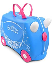 Trunki Ride-On Suitcase Bagage Enfant, 46 cm, 18 L, Princesse