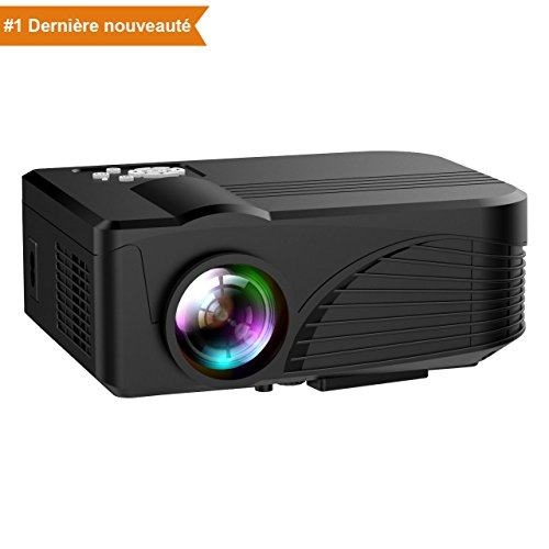 Projecteur 1080P LED Full HD Portable, NickSea...
