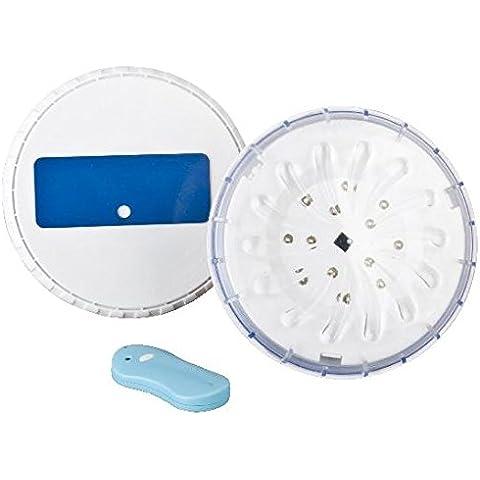 Manufacturas Gré PLED2 - Conjunto de 2 proyectores LED para piscinas elevada, color blanco