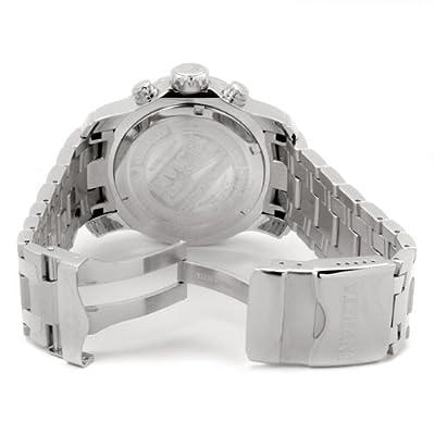 """Invicta Hombre 0069 Colección """"Pro Diver - Reloj de cuarzo para hombre, con correa de acero inoxidable, color plateado de Invicta"""