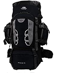 Mooedcoe 75L Large Hiking Backpack Outdoor Travel Mountaineering Climbing Camping Rucksack for Men