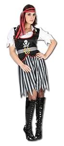 Perkins-Humatt 51079 - Disfraz de pirata para mujer