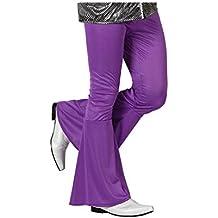 Atosa - 13272 - Disfraz Pantalon Disco Morado Adulto - Talla M