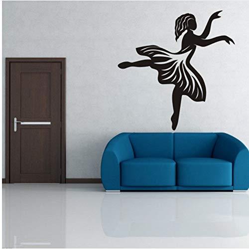 Pbbzl Ballett-Umwelt Generation Aufkleber Tv Hintergrund Aufkleber Wohnzimmer Sofa Vorhang Aufkleber Klassenzimmer Tanz 60X58 Cm