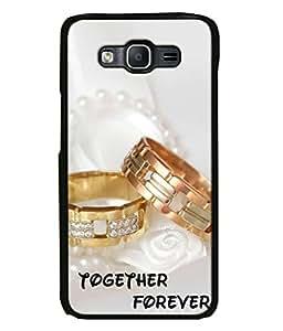 PrintVisa Designer Back Case Cover for Samsung Galaxy J7 (together forever beautiful engagement rings)