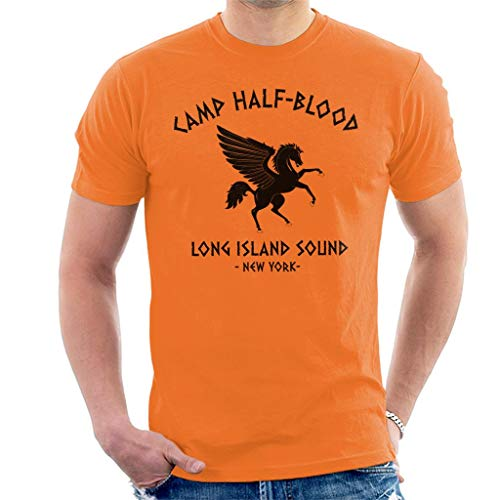 Percy Jackson Camp Half Blood Men\'s T-Shirt