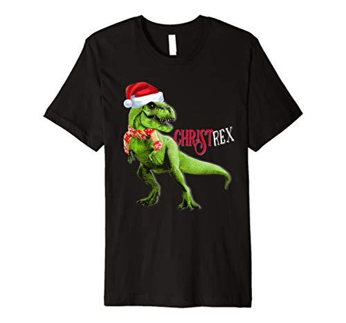 Merry Christ T Rex T Shirt Dinosaurier Geschenk Dino Idee