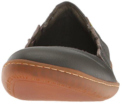 El Naturalista Damenschuhe N5272 El Viajero Komfortabler Damen Sneaker, Slipper mit Gummiszug Grafito