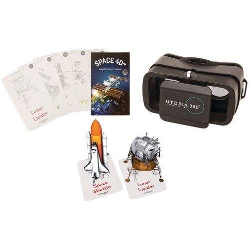 Utopia 4D + 360° più carte dell'esplorazione spaziale in realtà aumentata & auricolari VR ReTrak