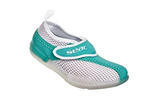 Seac chausson en neoprene Rainbow Vert pour femmes et enfants - Taille: 22