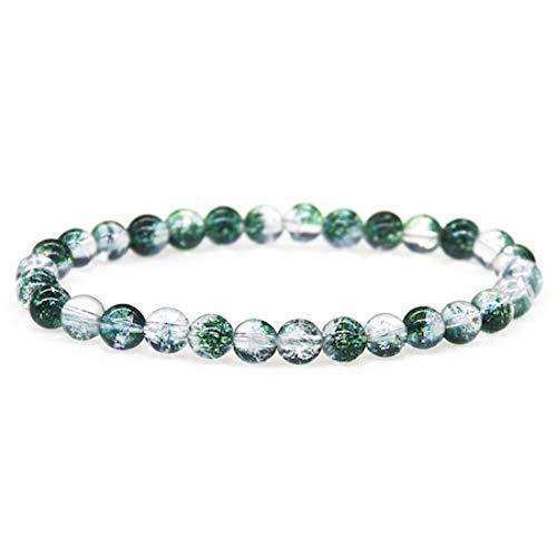 CXKNB Grün Phantom Geist Armbänder Trendy Naturstein Armband Für Frauen Berühmte Marke Männer Schmuck Benutzerdefinierte Länge Perle Charme Geschenk