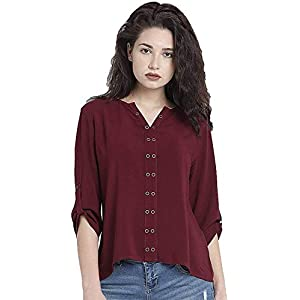 03fae36d253d0 THE LUGAI FASHION Cotton Womens Tunic Short Top for Daily Stylish Casual  and Western Wear Tops For Under 500 300 Girls And Set Below 200 Tshirts Men  Shirt ...