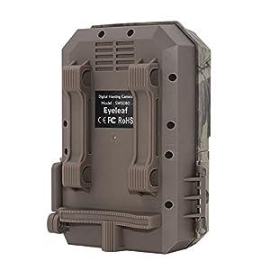 Eyeleaf Hunting Camera (12MP) HD 1080P Infrared Game Trail Camera 850nm or 940nm Waterproof Security Camera