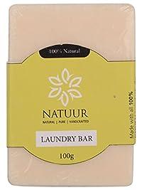 NATUUR Laundry Bar - 100 grams (Green)