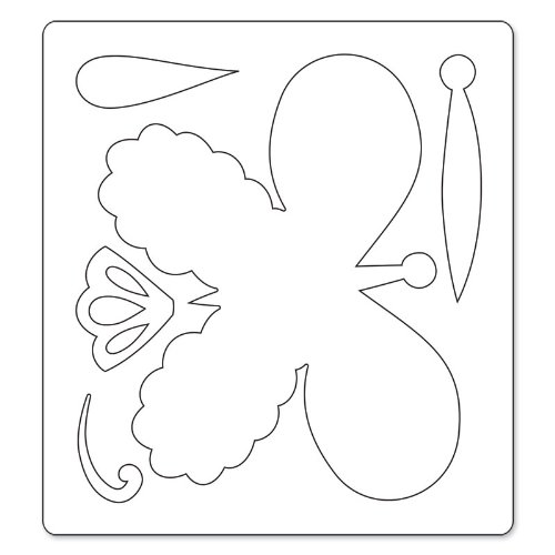 Sizzix Butterfly No.3 by Dena Designs Bigz Die, Black