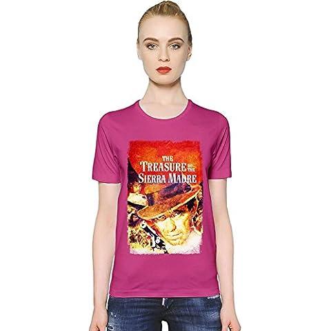 The Treasure Of The Sierra Madre T-shirt donna Women T-Shirt Girl Ladies Stylish Fashion Fit Custom Apparel By Slick Stuff