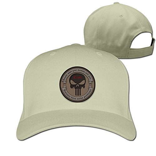 Hittings Chris Kyle Frog Foundation-American Sniper Ajustable Baseball Cap Cotton Natural