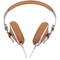 Moshi Avanti On-Ear-Kopfhörer Kompatibel mit Smartphones und Tablets - Karamell-Beige