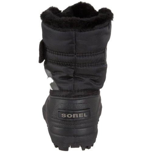 Sorel Snow Commander Childrens, Bottes de neige mixte bébé Noir (010 Black)