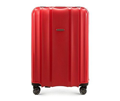 WITTCHEN Groß Reisekoffer | Farbe: Rot | Material: Polypropylen | Größe: 75 x 53 x 31 cm | Gewicht: 5.2 kg | Kapazität: 105 L | Sammlung: Premium PP | 56-3T-733-30
