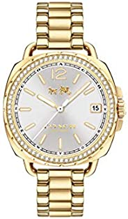 Coach Tatum Crystal Women's Silver Dial Stainless Steel Watch - 1450