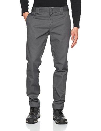 Dickies Herren Hose Slim Fit Work Pant, Charcoal, No Aplicable/L32 (Herstellergröße: 33/32)