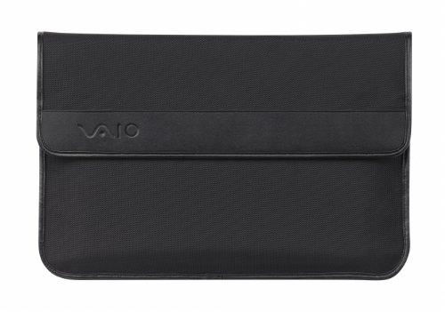 Sony Vaio Schutztasche VGPCP24 für alle aktuellen VAIO Notebooks bis 33,8 cm (13,3 Zoll), schwarz