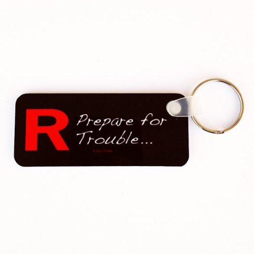 Nani?Wear Pocket Monster Anime Keychain Team R Prepare for Trouble by Nani?Wear 41hbOR8iWfL