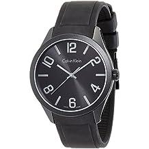 Calvin Klein Hombre Reloj de pulsera analógico cuarzo caucho k5e514b1