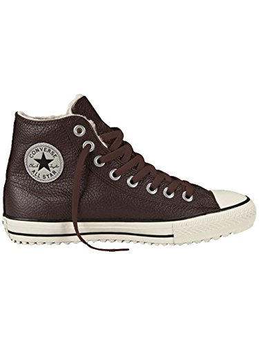 Converse All Star Hi Boot Homme Baskets Mode Marron Braun (Dunkelbraun)