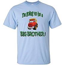 I 'm going to be a Big Brother. T camiseta de manga corta camisa, 100% algodón, orgánico cartucho de