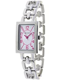 Reloj TIME FORCE de niña/señora. Acero. Cadena. Esfera plateada-rosa. TF-3355B11MR
