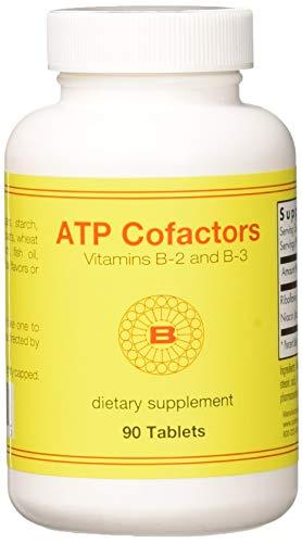 Optimox Corporation, ATP Cofactors Vitamin B-2 und B-3, 90 Tabletten -