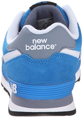 New Balance 478150-43, Chaussures Lacées Garçon Bleu (Blue/Grey/462)