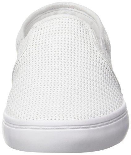 Lacoste Gazon 217 2, Basses Femme Blanc (Blanc)
