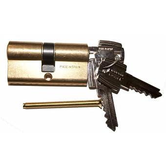 longitud 30//30mm con tarjeta de Seguro Protecci/ón elevada de copias Abus Bravus 2000 Seguridad DOBLE CILINDRO CON 6 LLAVES Equipo adicional: Emergencia Y DOBLE EMBRAGUE
