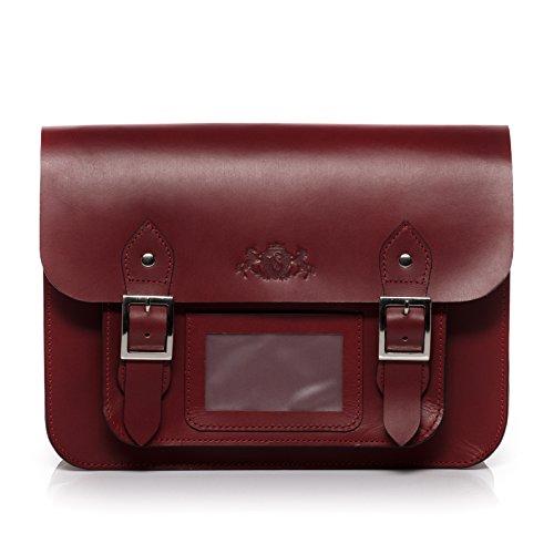 Scotch & Vain sac porté à l'épaule TESSA - Sac bandoulière approprié pour iPad shoulder bag - sac pour dames en cuir véritable