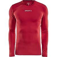 Craft Pro Cool - Camiseta de Manga Larga para niño, Color Rojo, Color Rojo, tamaño 11-12 años