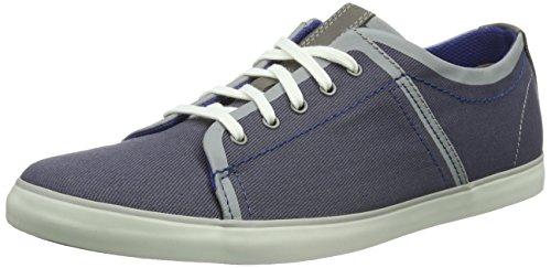 Clarks Rorric Plain Sneakers da Uomo Blu (Blue Canvas) Envío Libre Para Barato J31TVsx