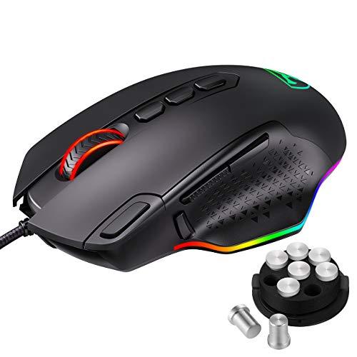 PICTEK Souris Gamer Filaire RGB, Souris Gaming- Bouton...