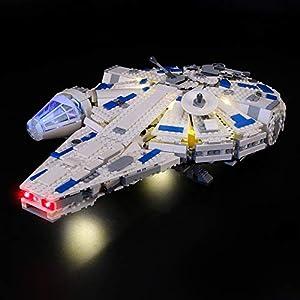 LIGHTAILING Set di Luci per (Star Wars Kessel Run Millennium Falcon) Modello da Costruire - Kit Luce LED Compatibile con… 0716852279722 LEGO