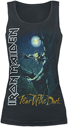 Iron Maiden Fear Of The Dark Top donna nero M