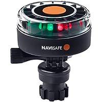 Navisafe 340Mini-Tricolor Navigation Licht mit navimount Boden, 2Nm