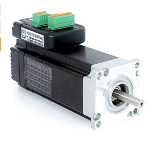180W 3000rpm NEMA23 0.57Nm integrierter Servomotor 36VDC JMC iHSV57-30-18-36 - Running Light Switch