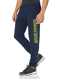 Pantalon Marine/Bleu Marine de Sapeurs Pompiers, jaune