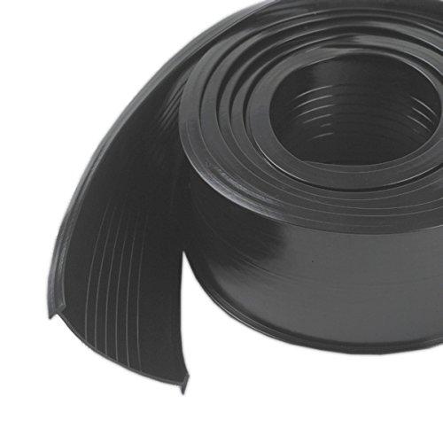 Md 08462 Produkte 2,5 Zoll X 18 ft. Schwarz Garage Door Bottom Vinyl Replacement