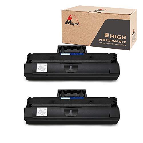 Mipelo Kompatibler Samsung MLT-D111S MLT D111S Toner, 2 Schwarz für Samsung Xpress M2020W M2022W M2070 M2070W M2070FW M2026 M2026W M2020 M2022 Drucker, 1000 Seiten pro MLT-D111S