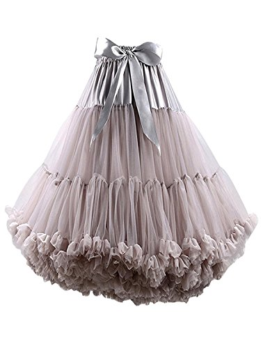 FOLOBE Frauen Tutu Kostüm Ballett Tanz Multi-Layer Puffy Rock Erwachsene luxuriöse weiche - Einfache Und Günstige Kostüm Für Erwachsene