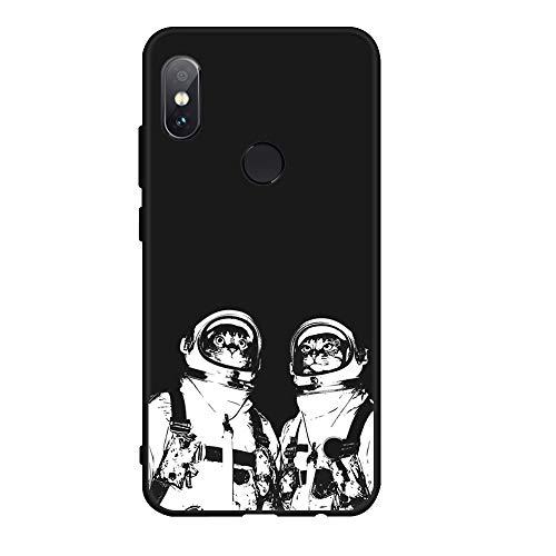 XMDSJKGC Hülle Handyhülle Weiche TPU Muster Silikon Telefon Case Für Xiaomi Redmi Note 5 Pro 5 Plus Note 5A Prime 4 4X Globale Mi A1 5X Fall Abdeckung, 03, Redmi Note 5A (64 Gb)